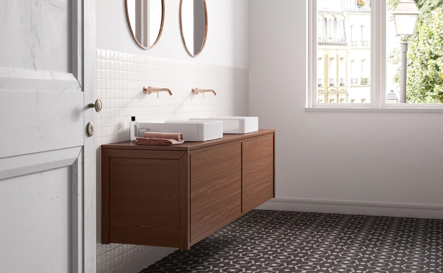 Le piastrelle di tendenza per il bagno quali sono gli ultimi